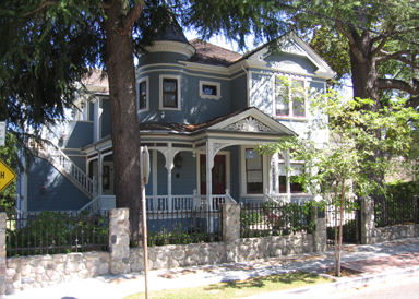 130 Edelen from 2007 - University or Edelen Historic District neighborhood in Los Gatos