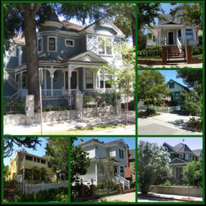 Edelen University historic district neighborhood Los Gatos collage 1000