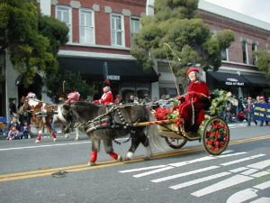 Los Gatos holiday parade