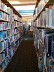 Upstairs Library Stacks