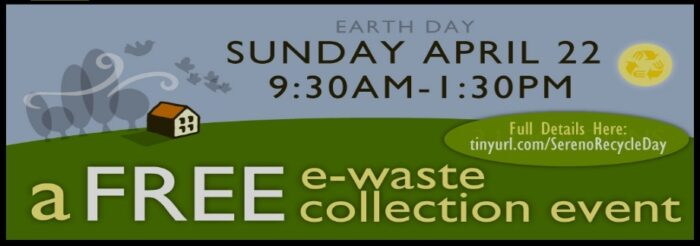 Sereno Group E-Recycle Day Information