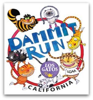 Dammit Run - Los Gatos Dammit Run