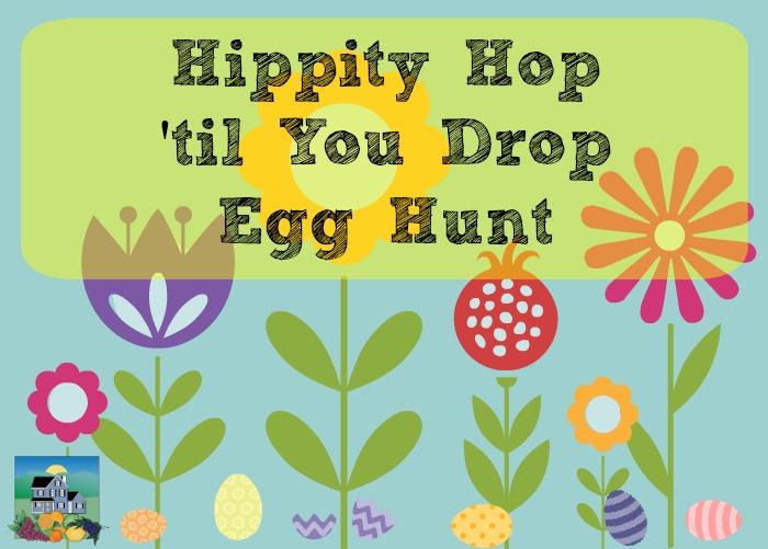 Hippity Hop til you drop egg hunt