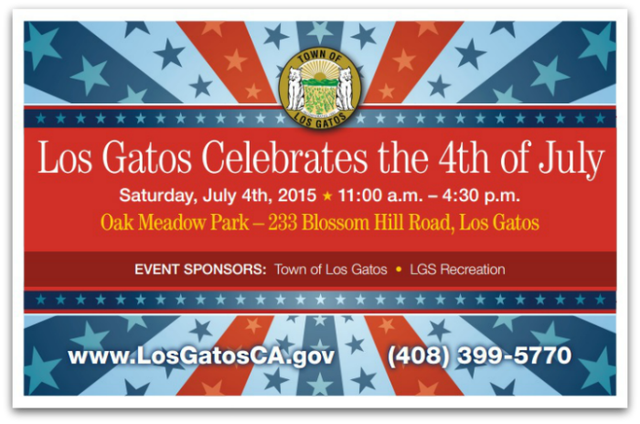 Los Gatos July 4 2015