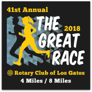 greatrace2018 300x300 - Annual Great Race from Saratoga to Los Gatos is this Sunday