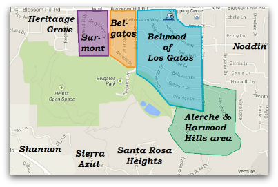 Los Gatos Neighborhoods And Subdivisions Live In Los Gatos