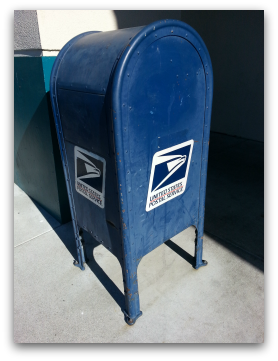 USPS Mail boxes in Los Gatos and Monte Sereno CA