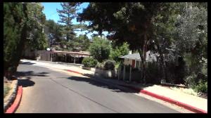 Fairview Plaza pedestrian path shortcut to downtown Los Gatos