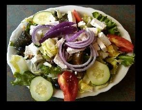 Greek Salad at Southern Kitchen Los Gatos
