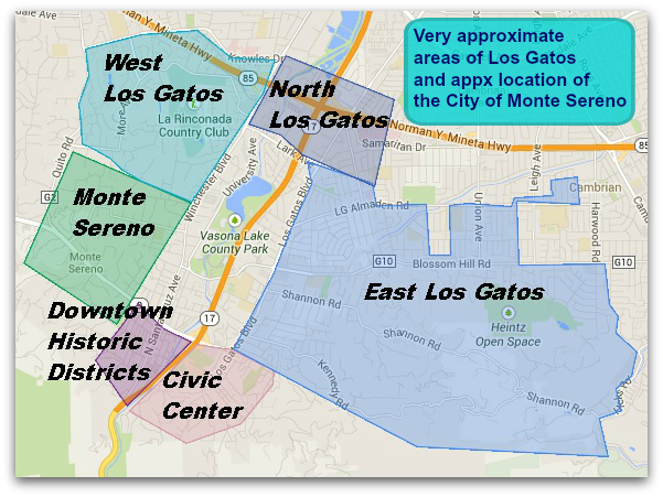 Where Is Los Gatos California Live In Los Gatos
