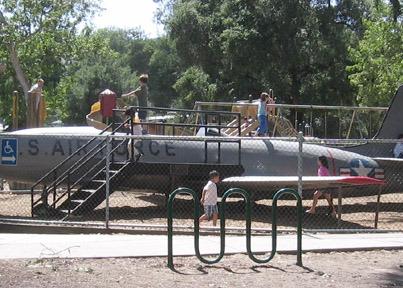 Airplane at Oak Meadow Park 403x288 - Photos of Los Gatos