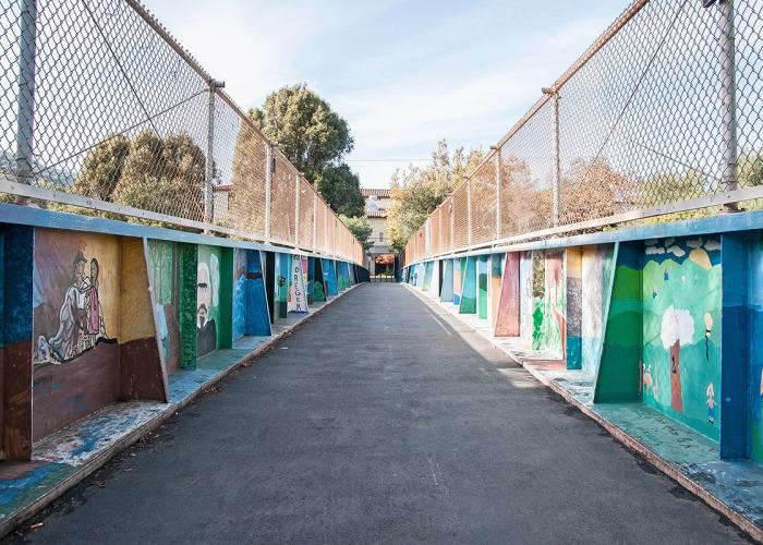 Footbridge 2 700x500 - Photos of Los Gatos