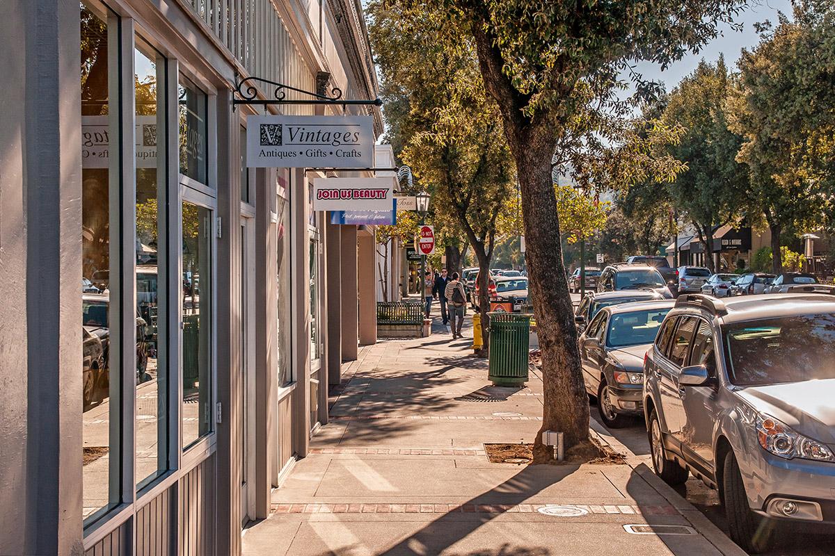 Los Gatos North Santa Cruz Avenue - Photos of Los Gatos