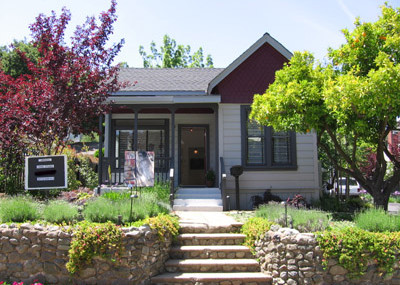 Artist studio on Bayview Avenue in Los Gatos