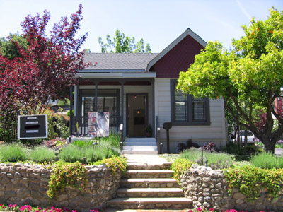 Art Studio near downtown Los Gatos - How old are the oldest houses in Los Gatos and nearby?
