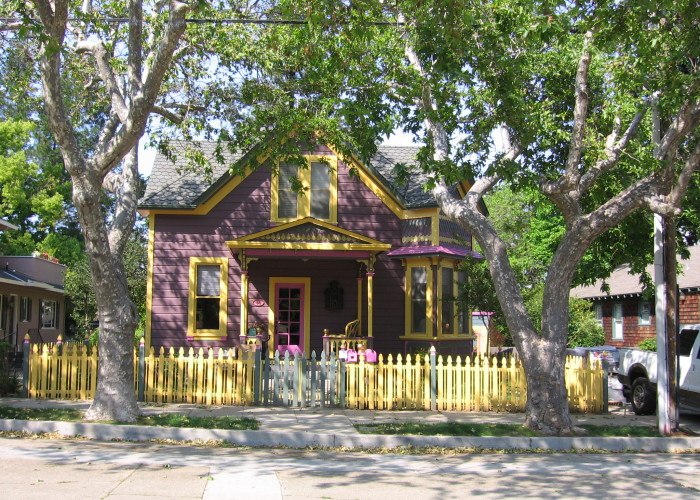 Colorful home on Broadway