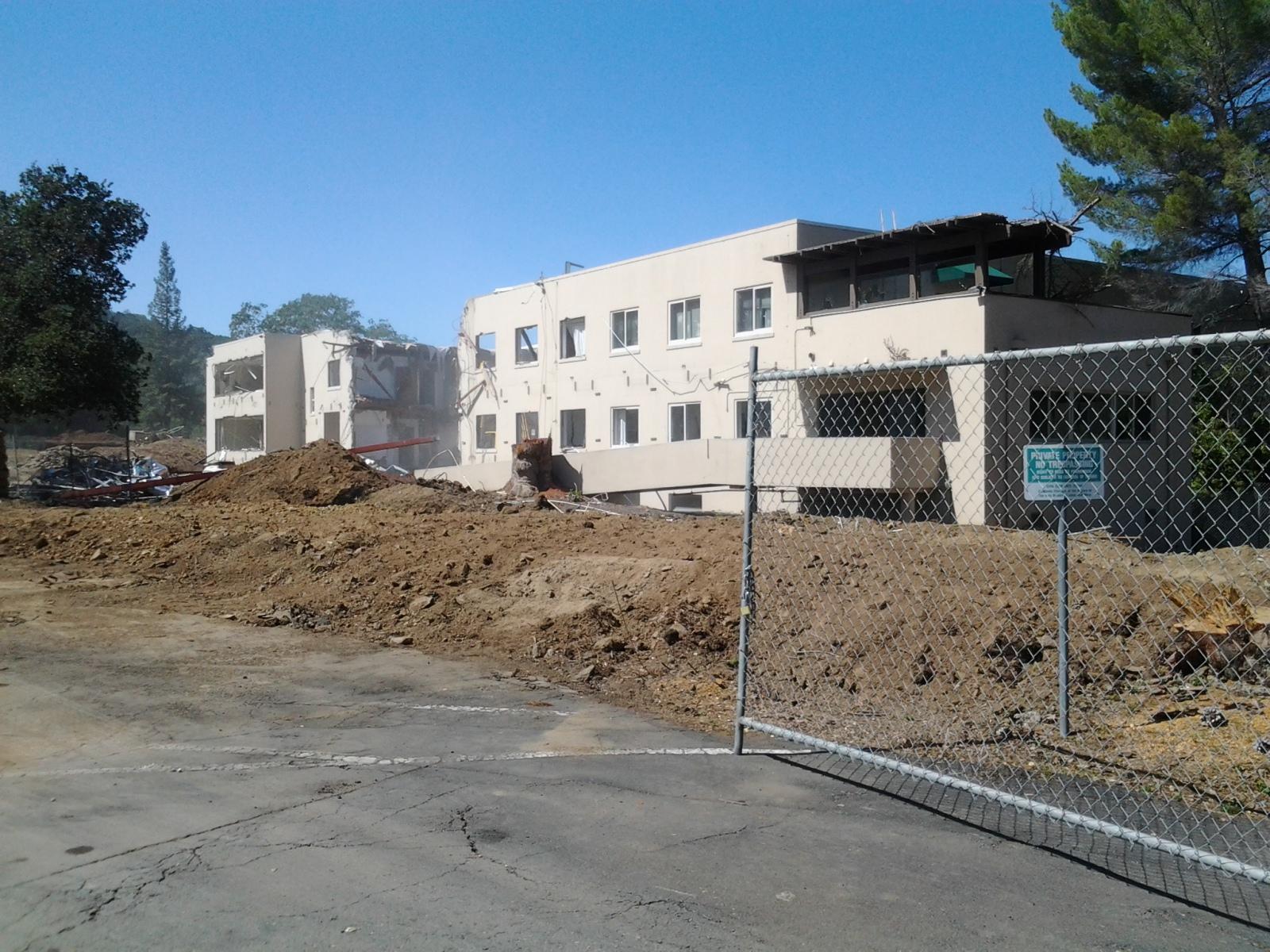 3 convent - Convent tear down