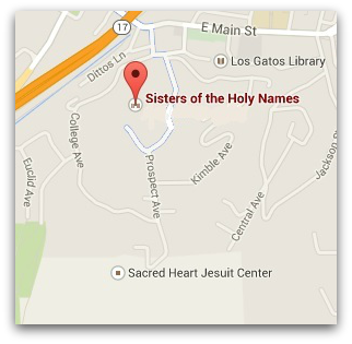 Holy names convent location
