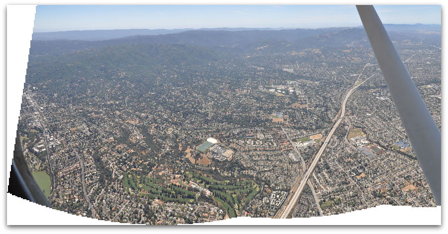West Los Gatos aerial view