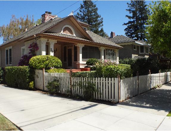 10 Broadway home 574x442 - The historic Broadway area neighborhood in Los Gatos