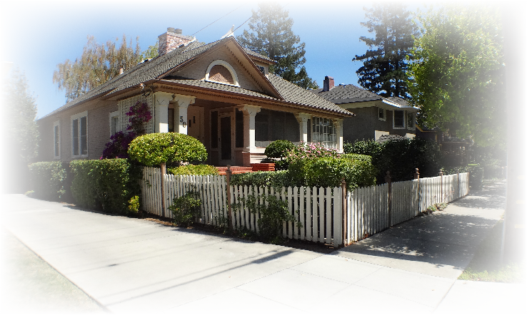 10 Broadway home - The historic Broadway area neighborhood in Los Gatos