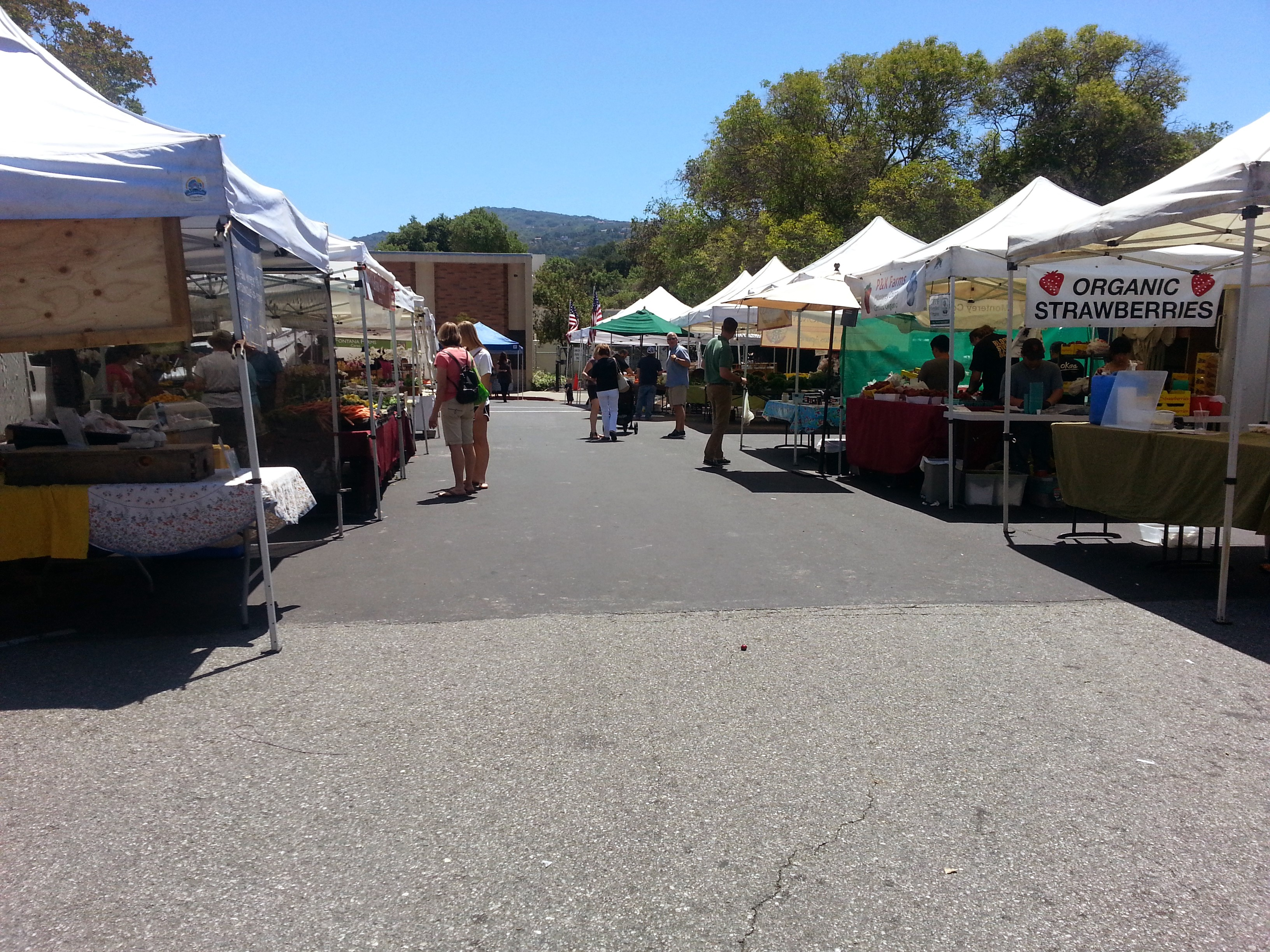 2 - Visit the Los Gatos Farmer's Market!
