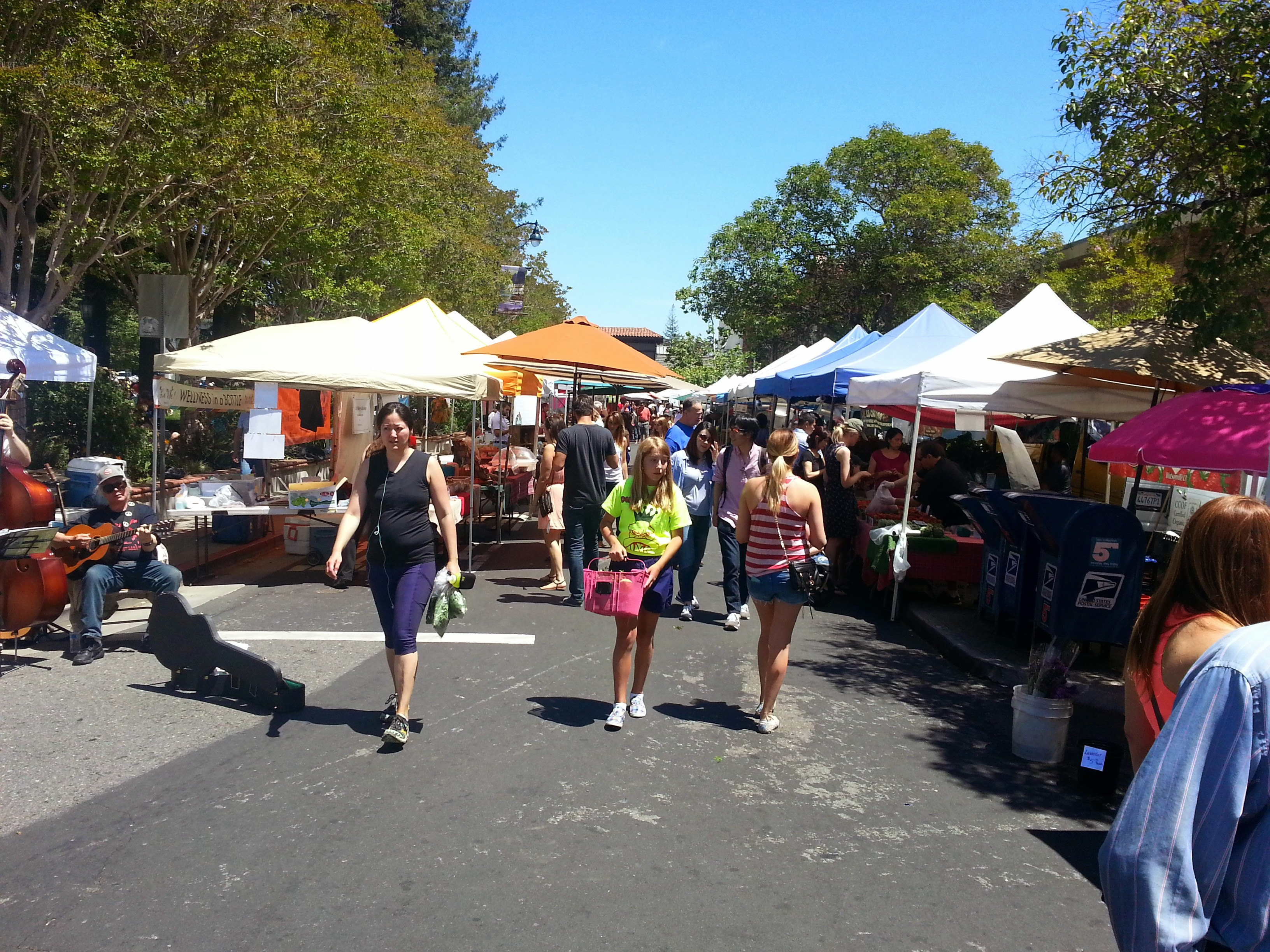 3 - Visit the Los Gatos Farmer's Market!