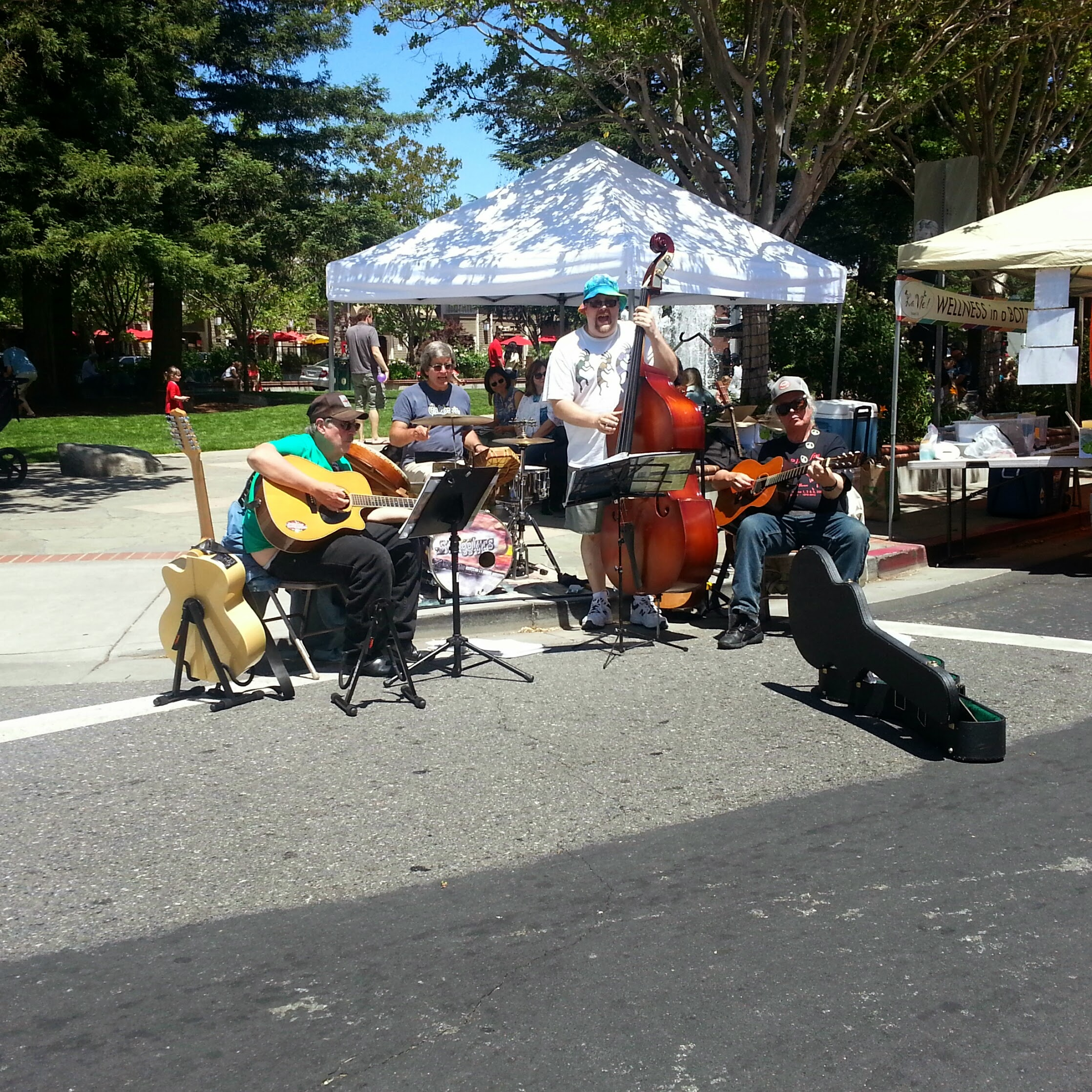 4 - Visit the Los Gatos Farmer's Market!