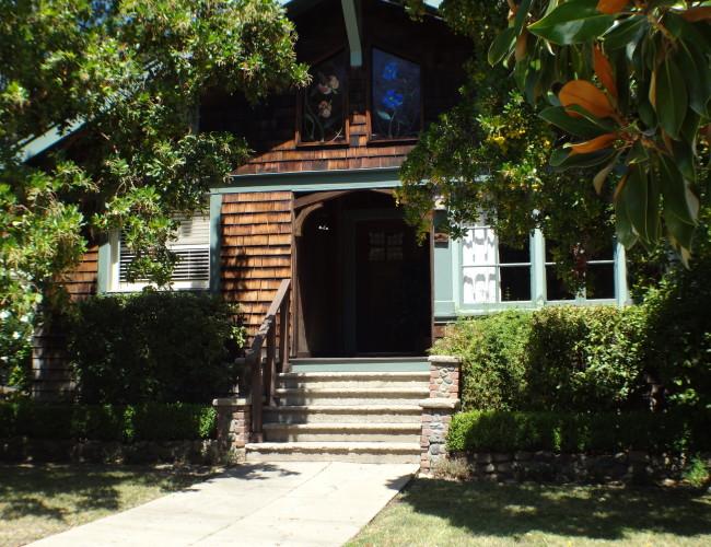 6 Shingled home 650x500 - The historic Broadway area neighborhood in Los Gatos