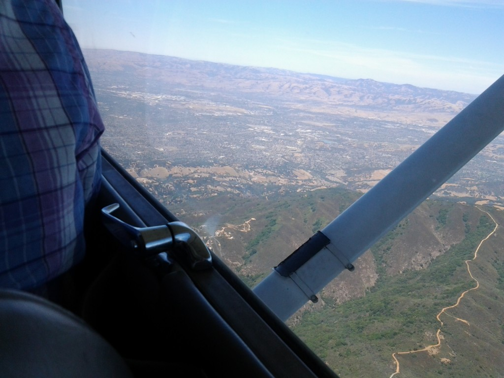 Aerial view of east Los Gatos