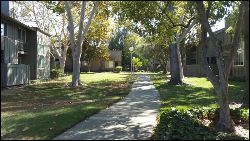 Charter Oaks greenbelt