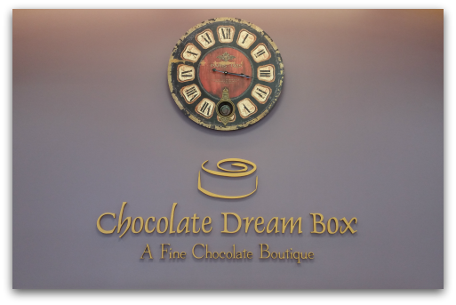 Chocolate Dream box name and logo
