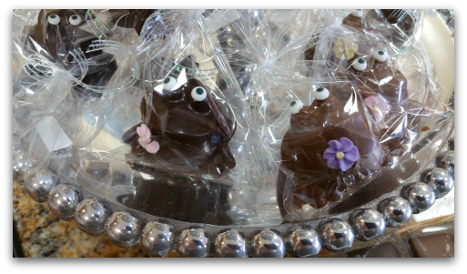 Cute froggy candy