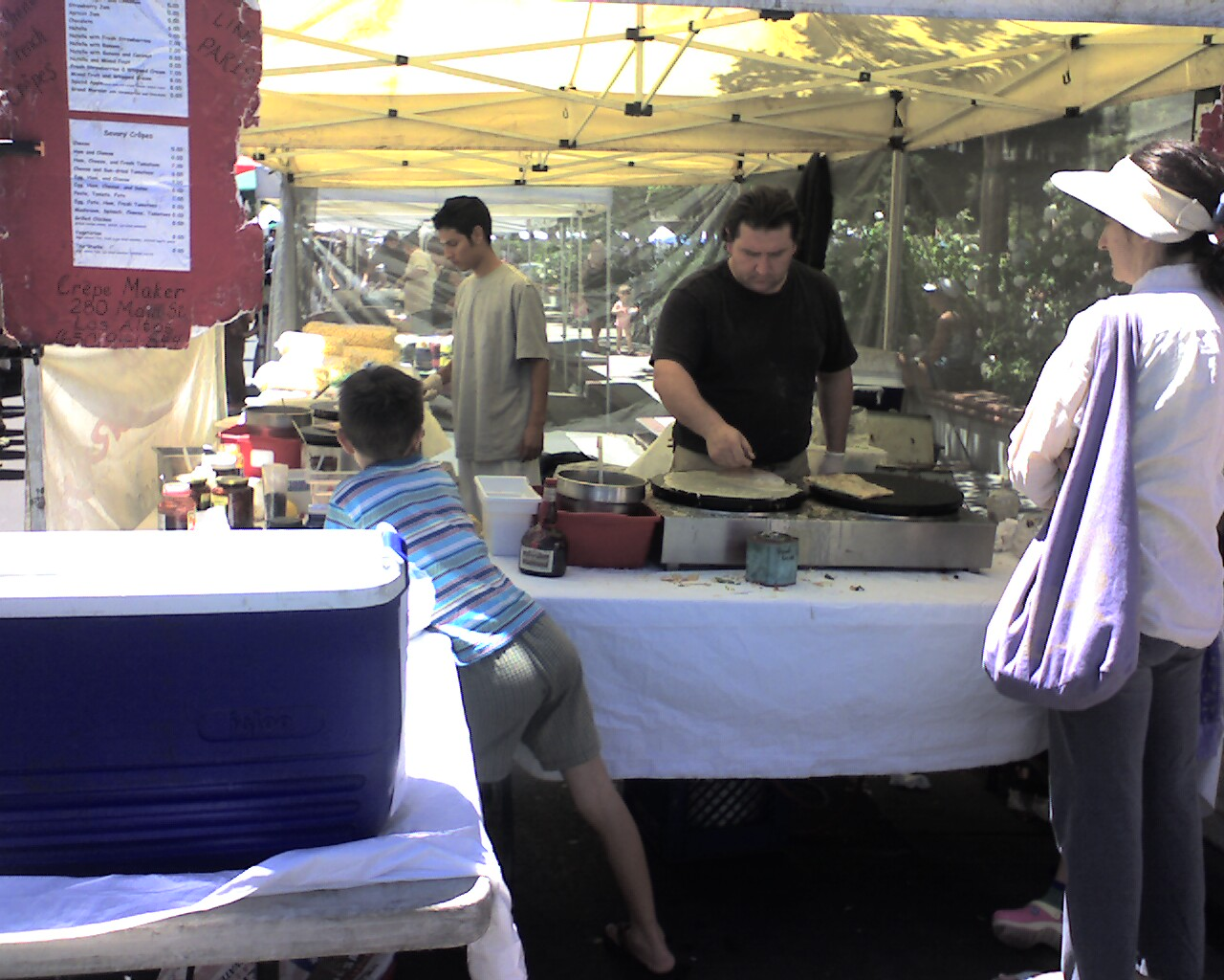 Farmers Market Crepes - Visit the Los Gatos Farmer's Market!