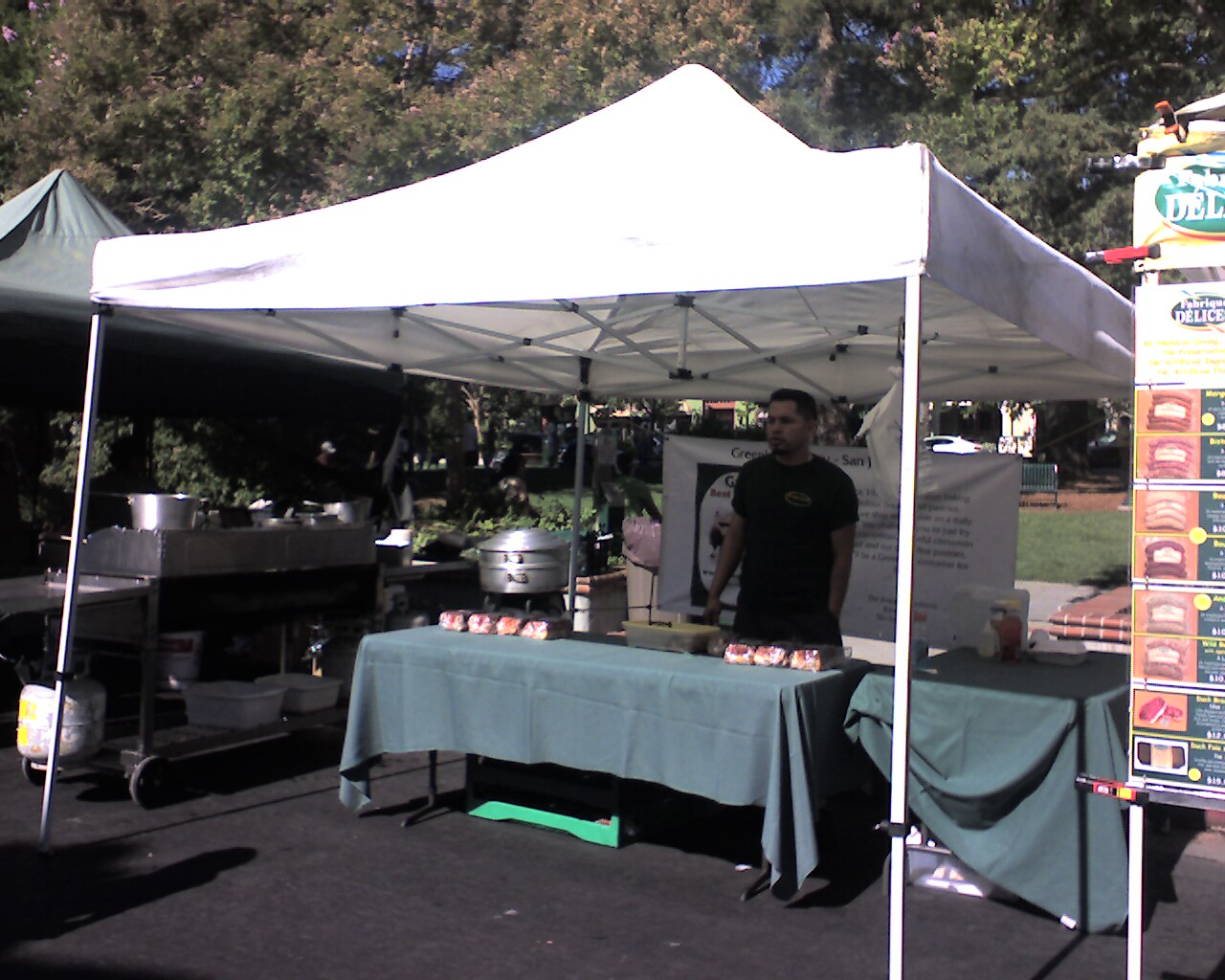 Greenlees Booth - Visit the Los Gatos Farmer's Market!
