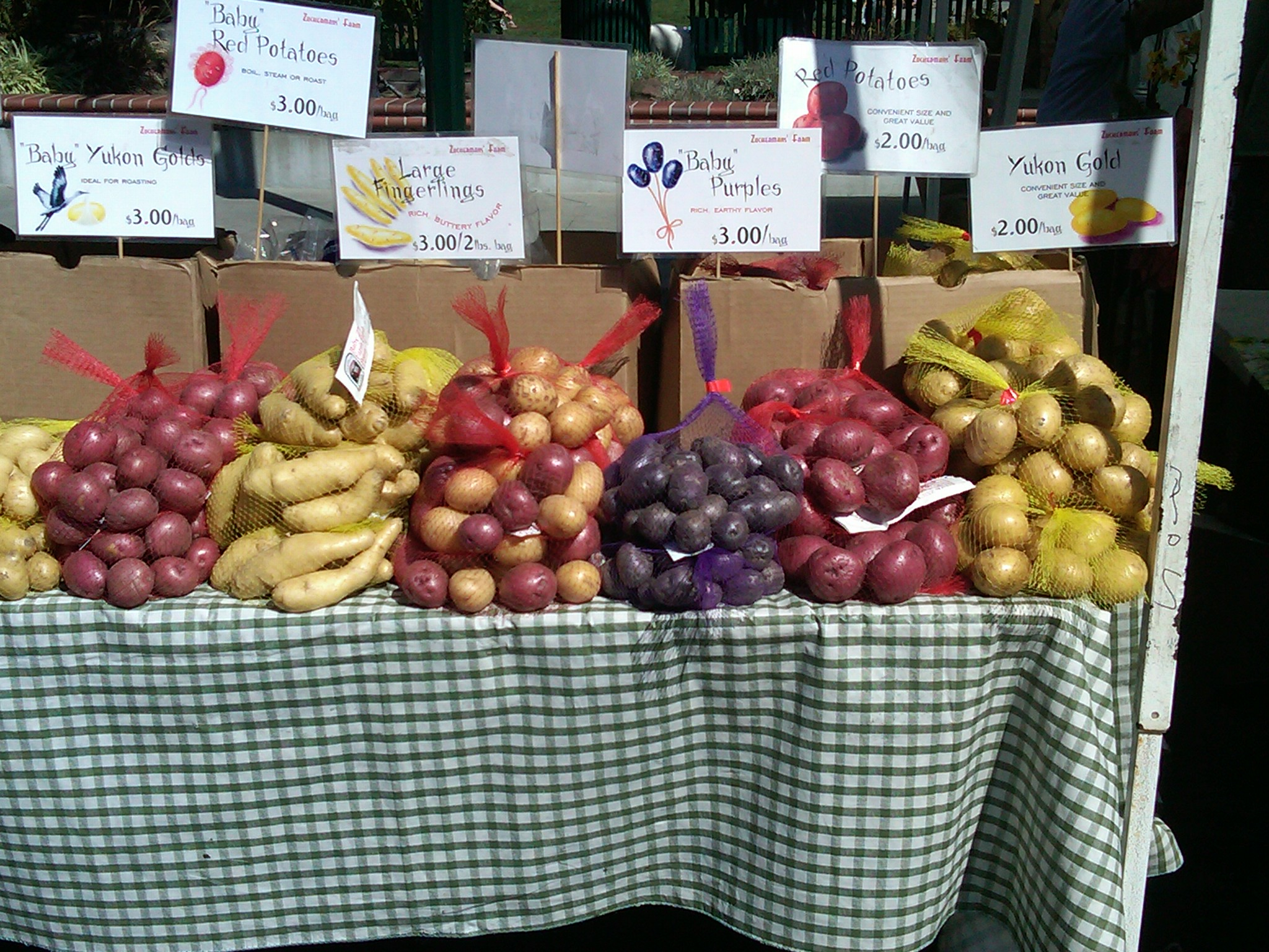Produce - Visit the Los Gatos Farmer's Market!