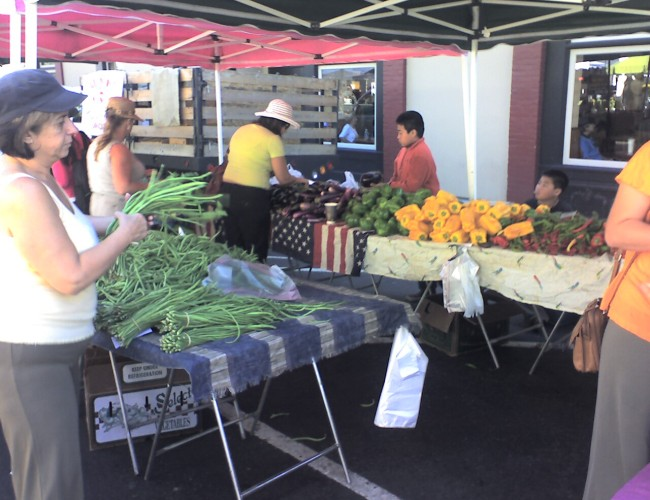 Veggies 650x500 - Visit the Los Gatos Farmer's Market!