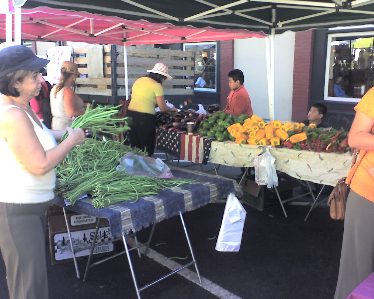 Veggies - Visit the Los Gatos Farmer's Market!