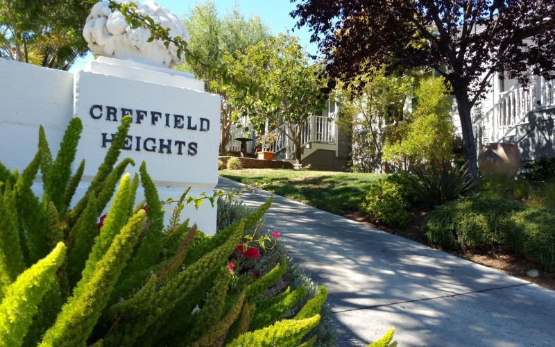 Creffield Heights on San Benito in Los Gatos