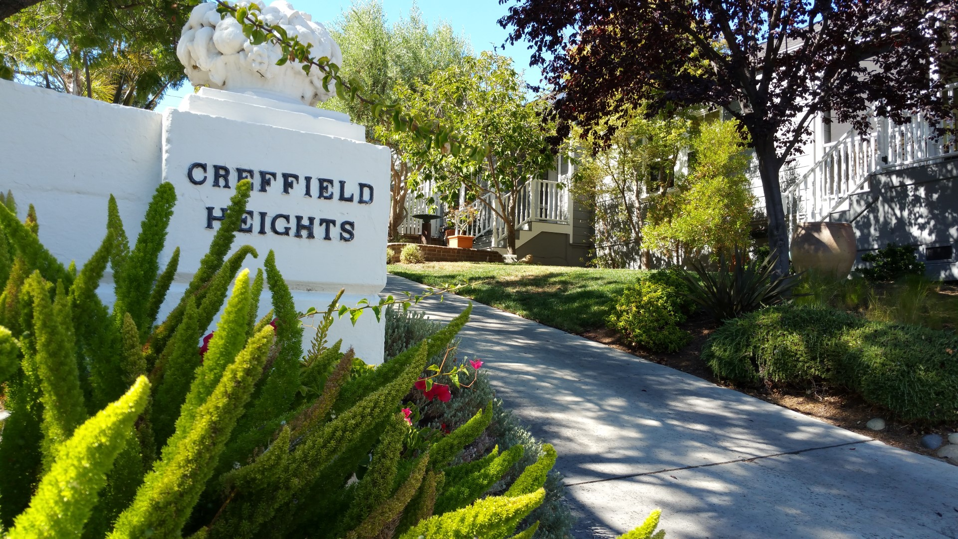 2 Creffield Heights1 - Creffield Heights and San Benito Avenue area