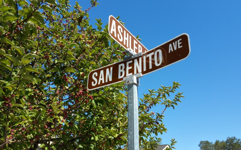 Ashler San Benito sign