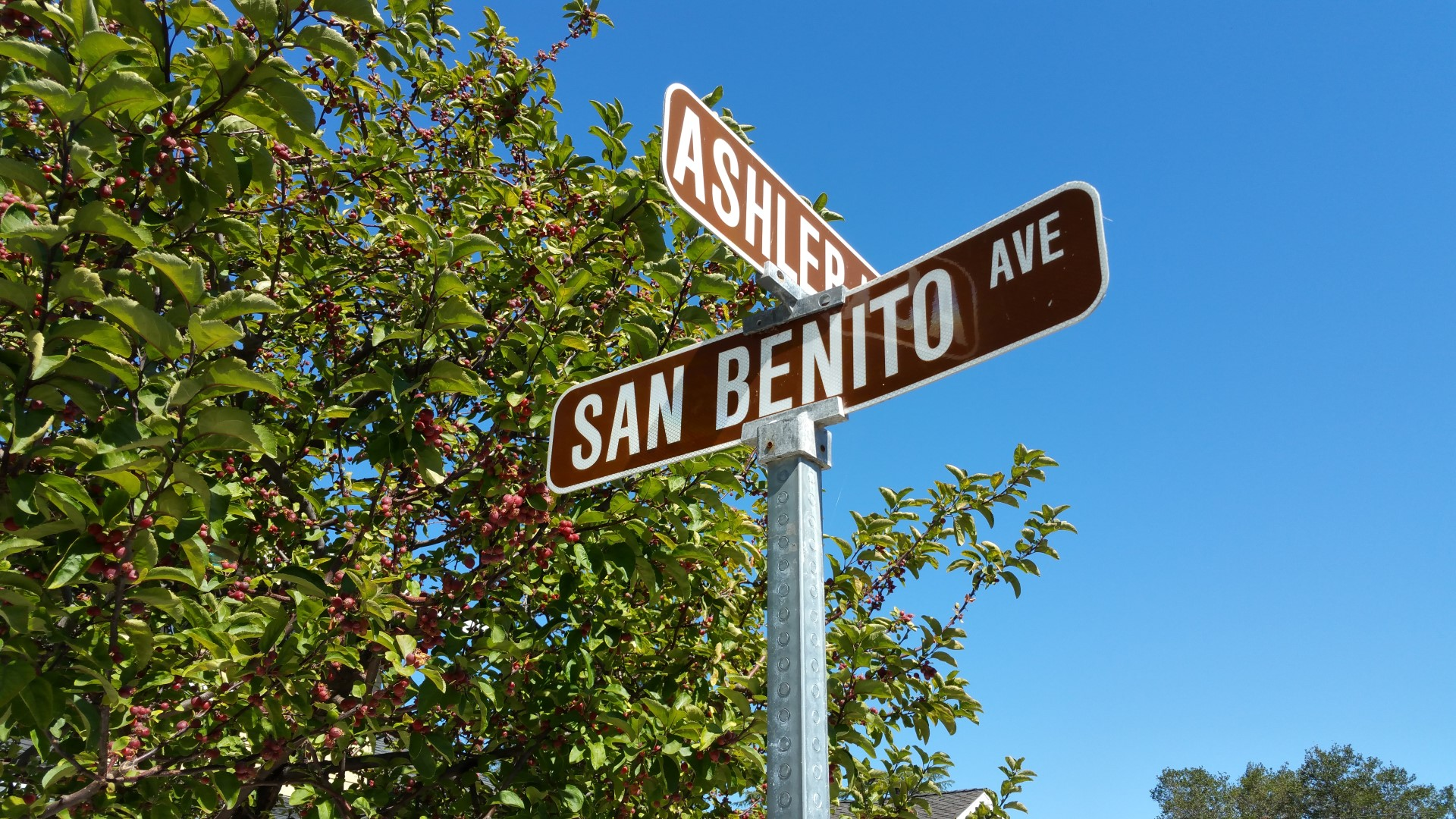 5 Ashler San Benito sign1 - Creffield Heights and San Benito Avenue area