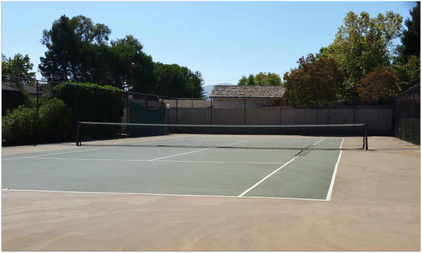 Tennis Court - needs repair
