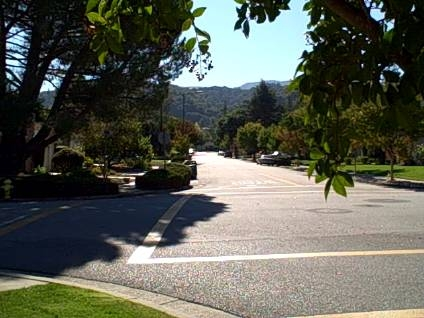 View of Hills - Strathmore neighborhood of Los Gatos