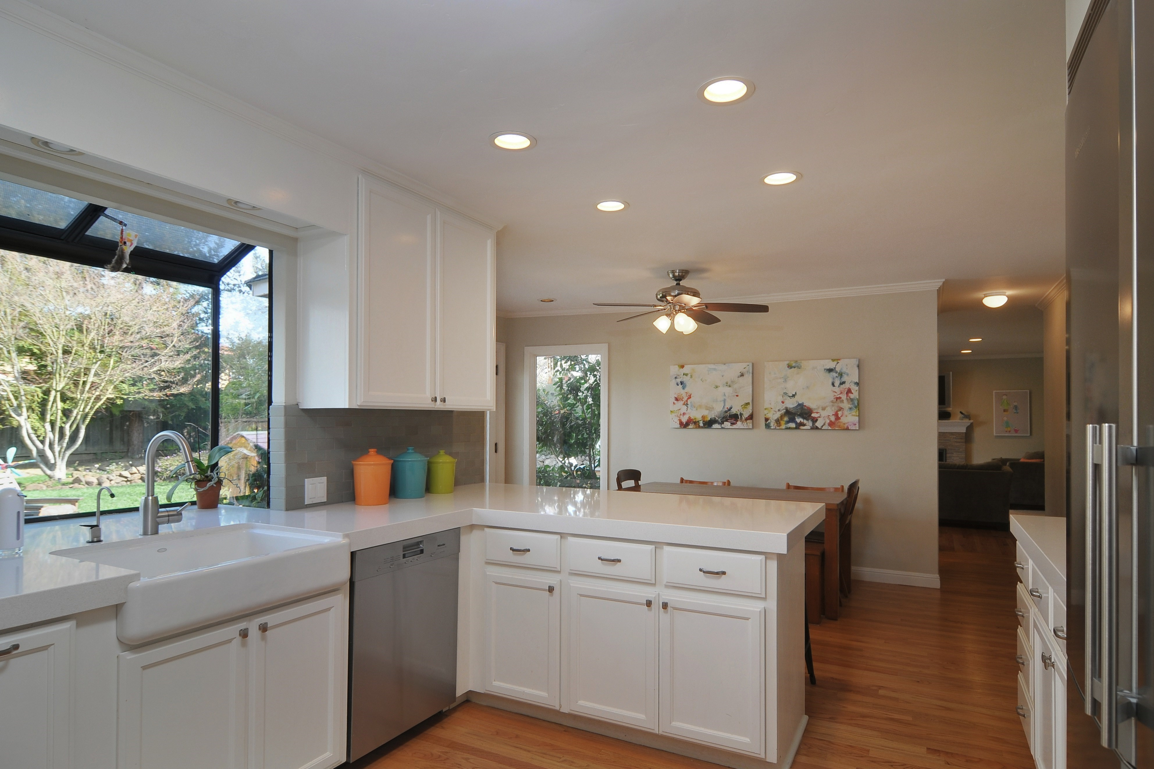 009 Kitchen 4 - Exquisite, expansive, remodeled Belwood home - 127 Belhaven Drive, Los Gatos