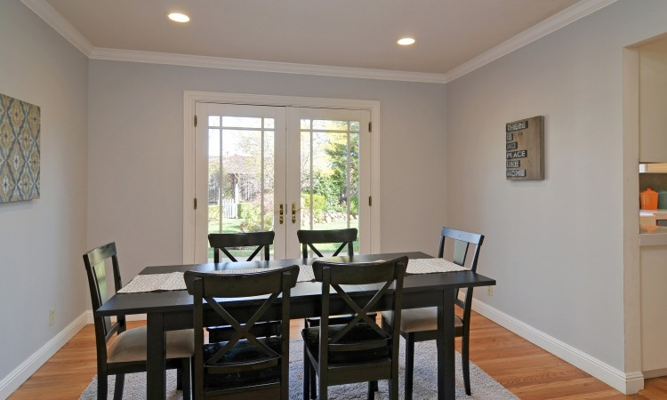 010 Dining Room 750x450 - Exquisite, expansive, remodeled Belwood home - 127 Belhaven Drive, Los Gatos