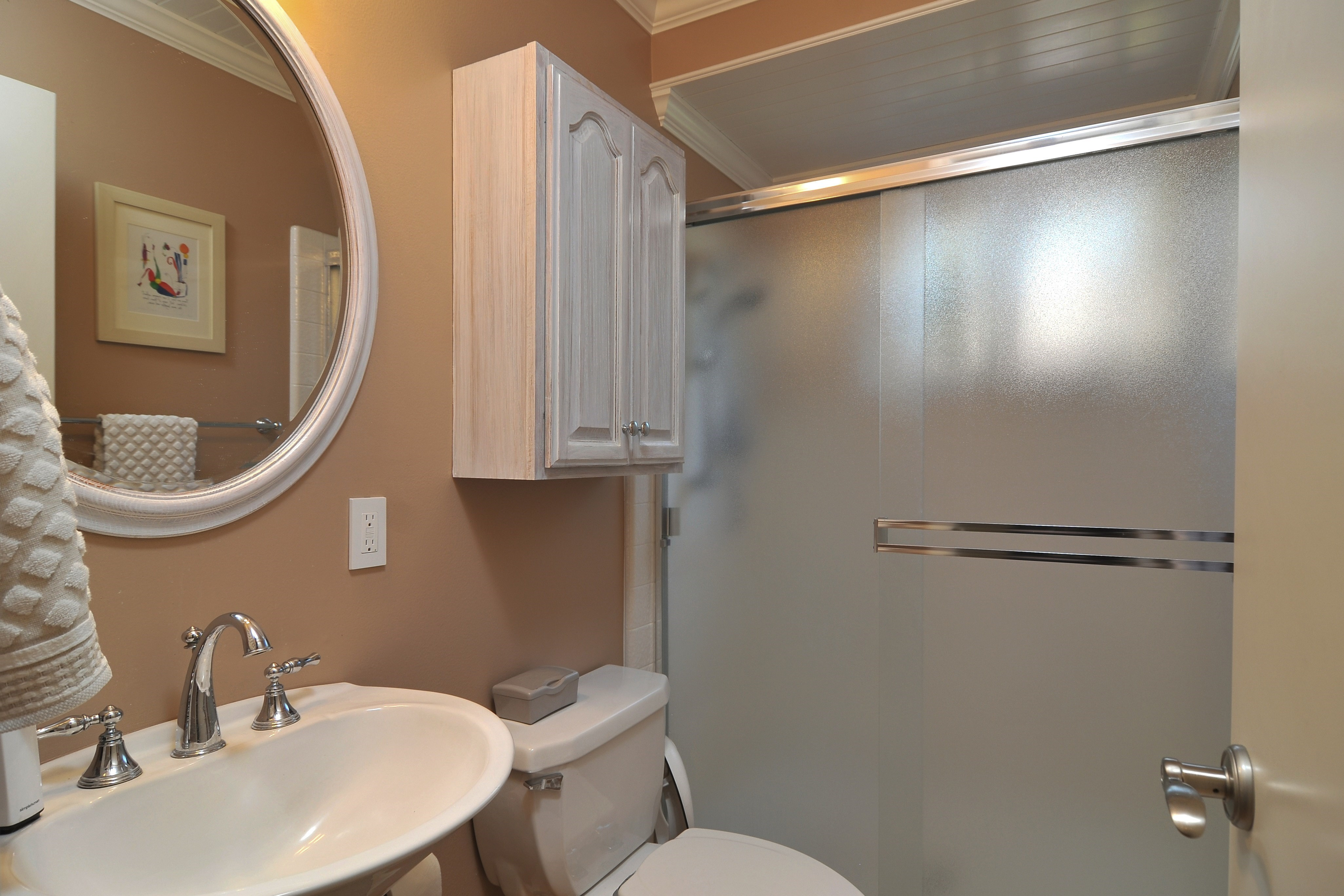 014 Downstairs Bathroom - Exquisite, expansive, remodeled Belwood home - 127 Belhaven Drive, Los Gatos