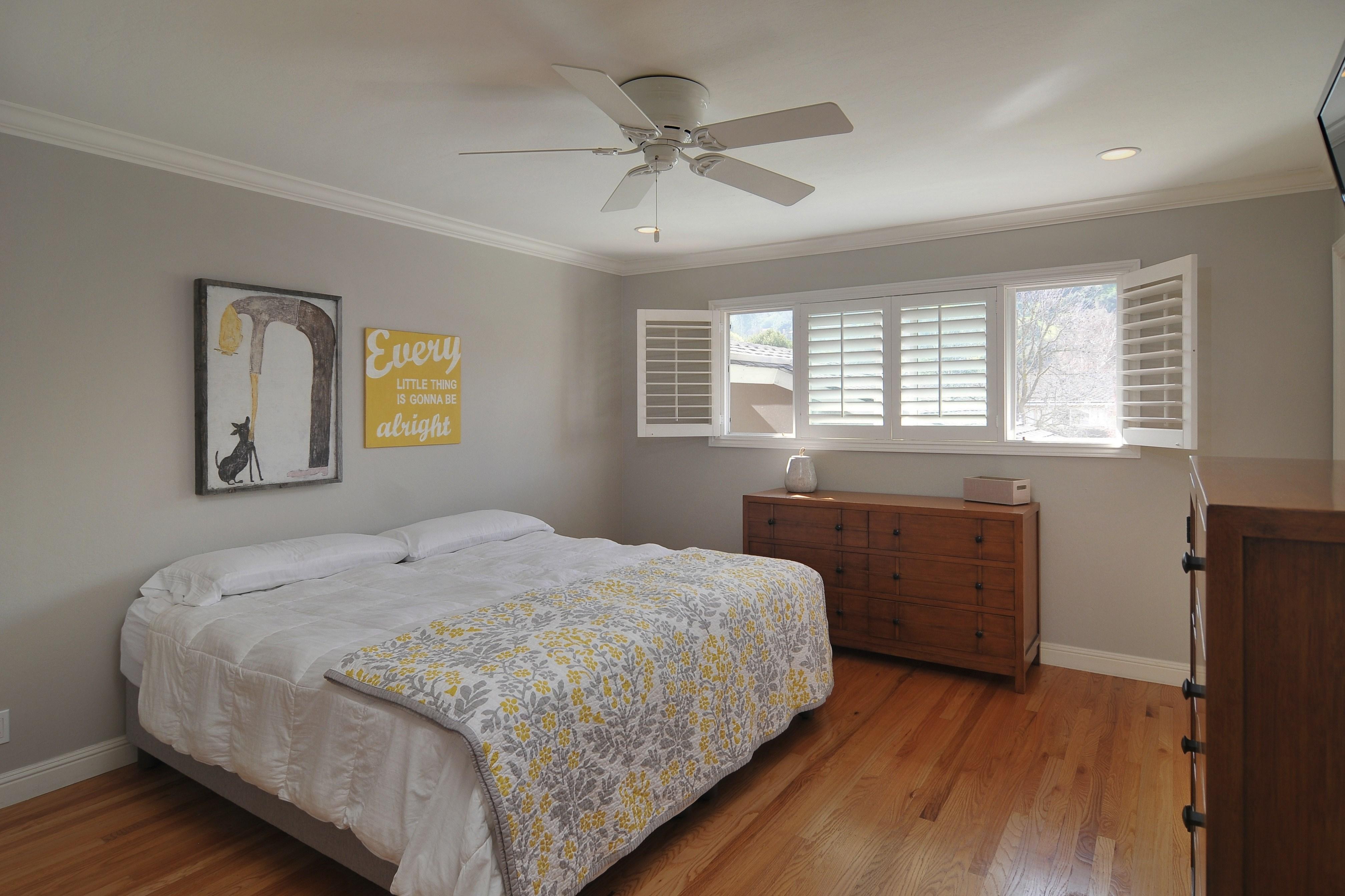 015 Master Bedroom - Exquisite, expansive, remodeled Belwood home - 127 Belhaven Drive, Los Gatos