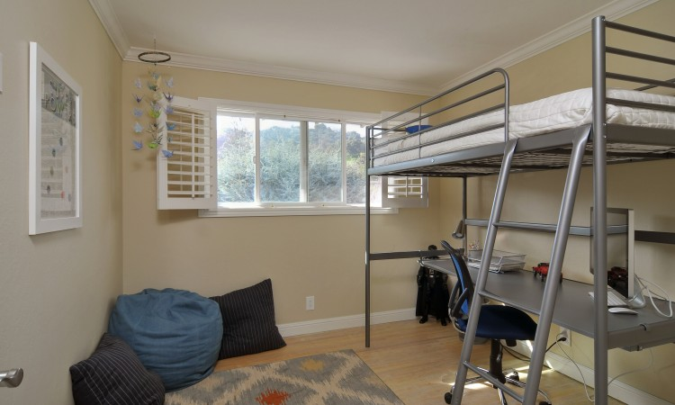 018 Bedroom 2 750x450 - Exquisite, expansive, remodeled Belwood home - 127 Belhaven Drive, Los Gatos