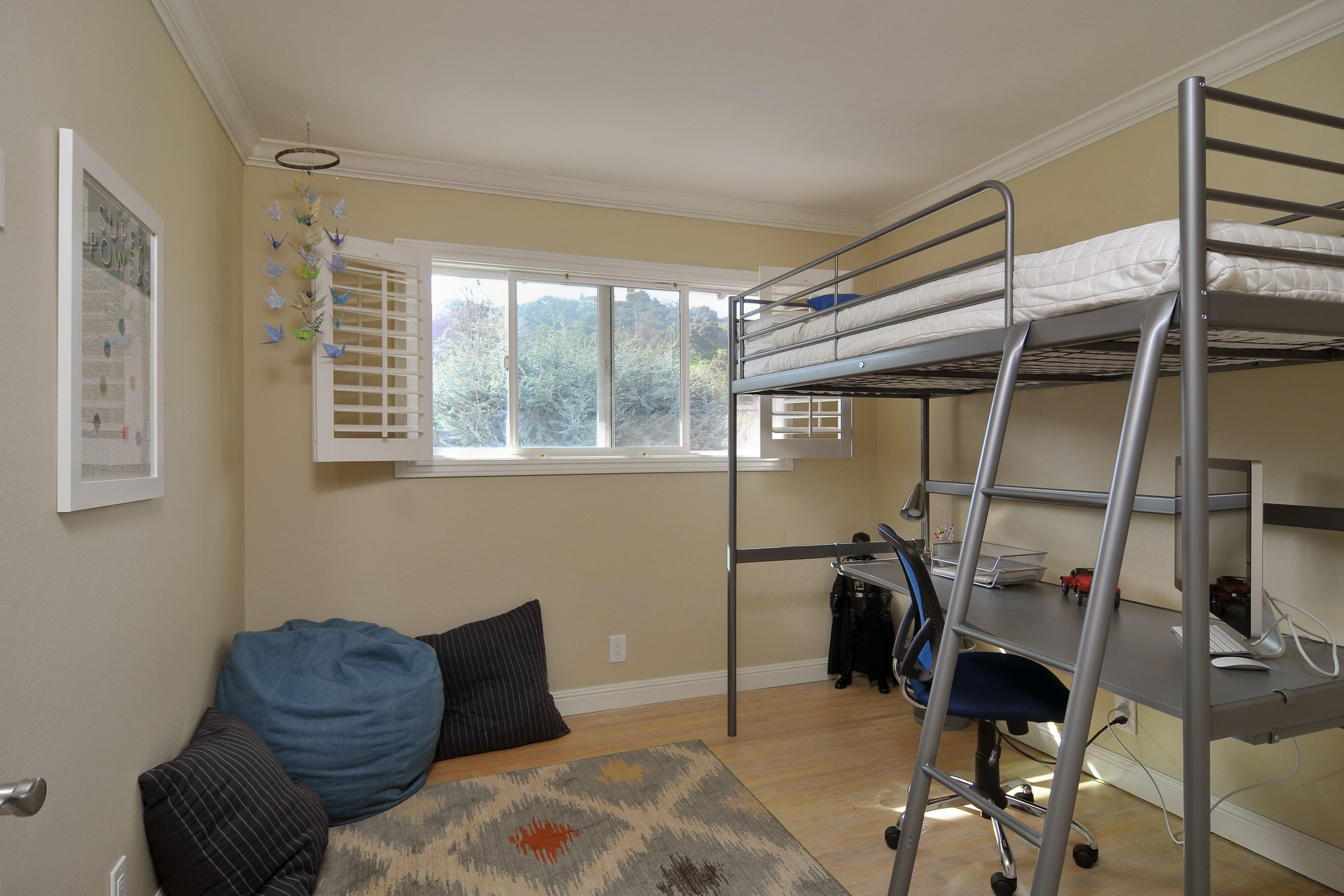 018 Bedroom 2 - Exquisite, expansive, remodeled Belwood home - 127 Belhaven Drive, Los Gatos